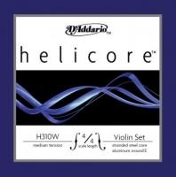 D Addario Helicore 4/4 viulun kielisarja punottu E-kieli