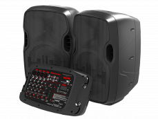 HH S2-210 Portable Sound kannettava PA-setti.