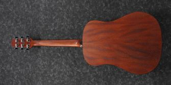 Ibanez AAD100E-OPN kitara takaa.