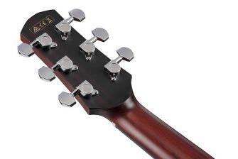 Ibanez AAD400CE-LGS kitaran lapa takaa.