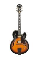 Ibanez AF2000-BS Artstar Prestige puoliakustinen kitara.