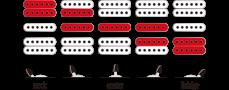 Ibanez GRX70QA-SB -sähkökitara.