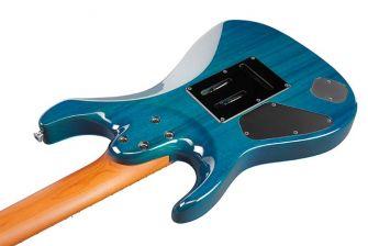 Ibanez MM7-TAB kitaran runko takaa.