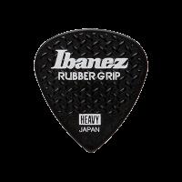 Ibanez Rubber Grip Heavy -plektra, musta.