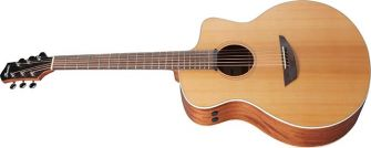 Ibanez PA230E-NSL -kitara kulmasta kuvattuna.
