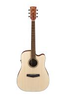 Ibanez PF10CE-OPN mikitetty akustinen kitara.