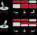 Ibanez EH10-TGM mikrofonien kytkentämalli.