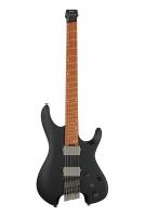 Ibanez QX52-BKF lavaton kitara vinoilla nauhoilla.