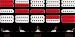 Ibanez RG H-S-H mikrofonien kytkentämalli.