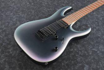 Ibanez RGA42EX-BAM kitaran kansi lähikuvassa.