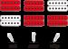 Iron Label RGIR9 mikrofonien kytkentämalli.