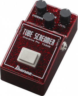 Ibanez Tube Screamer Overdrive Pro TS80840TH -kitarapedaali.