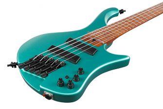 Ibanez EHB1005SMS-EMM basson runko lähikuvassa.