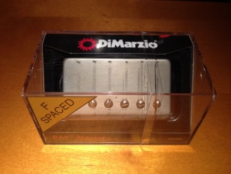 DiMarzio DP260 Custom laatikossaan.