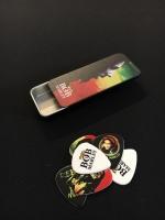 Dunlop Bob Marley Rasta Series Heavy plektrat tinalaatikossa