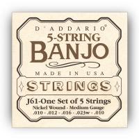 Daddario 010-023 banjon kielisarja