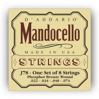 Daddario 022-074 mandocello kielisarja