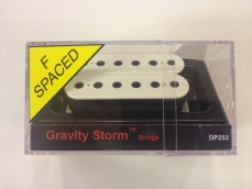 DiMarzio DP253F Gravity Storm tallamikki valkoinen