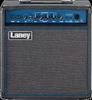 Laney Richter Bass RB2 -bassovahvistin edestä.
