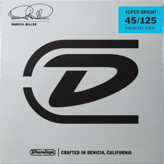 Dunlop Marcus Miller 45-125 Super Bright 5-k