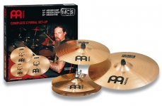 Meinl MCS symbaalisetti - crash, ride ja hi-hat.