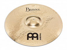 "Meinl 22"" Byzance Brilliant Heavy Hammered Ride"