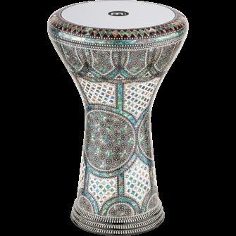 MEINL Artisan Edition Doumbek Blue Pearl Mosaic Palace AEED3.