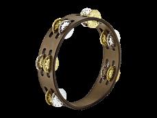 "MEINL 8"" Compact tamburiini CTA2VM-WB"