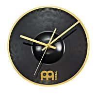 Aidosta splash-symbaalista tehty kello on oiva lahjaidea muusikolle.