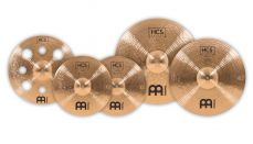 Meinl HCS Bronze neljän symbaalin symbaalisetti.