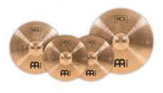 Meinl HCS Bronze kolmen symbaalin symbaalisetti.