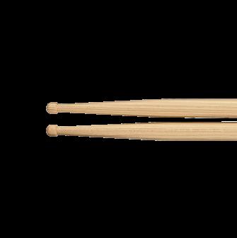 Meinl HD2 Concert Hickory rumpukapuloiden pyöreät kärjet.