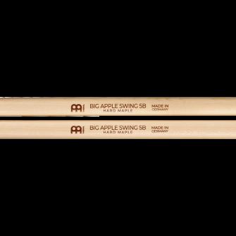 Meinl Big Apple Swing 5B Hard Maple yksityiskohdat.