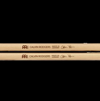Meinl Calvin Rodgers rumpukapuloiden logot.