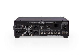 Mesa/Boogie WD-800 bassovahvsitin takaa.