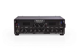 Mesa/Boogie WD-800 bassovahvsitin edestä.