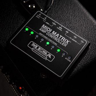 Mesa Boogie MIDI Matrix Amp Controller.