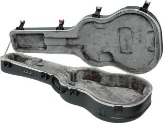 Ibanez MR600AC kitarakotelo auki.