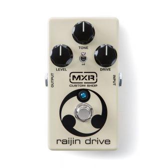 MXR Raijin Drive -säröpedaali edestä.
