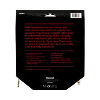 MXR Stealth Series kitarajohdon paketti takaa.