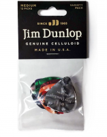 Dunlop Celluloid Medium Variety Pack