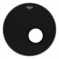 "Remo 24"" Powerstroke 3 Ebony Resonant"