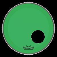 """Remo 24"""" Powerstroke 3 Colortone vihreä"""