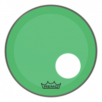 """Remo 18"""" Powerstroke 3 Colortone vihreä"""