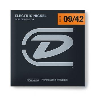 Dunlop Nickel Wound Performance+ DEN0942 -sähkökitaran kielet.