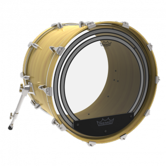 "Remo 20"" Powersonic Clear Bass"