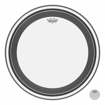 "Remo 22"" Powerstroke Pro Clear Bass"