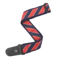 Daddario T20W1410 Tie Stripes Blue & Red kitarahihna