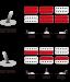 RGIXL7-ABL mikrofonien kytkentämalli.