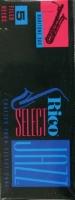 Rico 2S Jazz Select filed  baritonisaksofonin lehtilaatikko ( 5 lehteä)